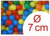 200 ballenbak ballen 7 cm