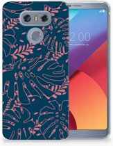 LG G6 TPU Hoesje Design Palm Leaves