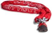 Starry Kettingslot Citycat Met Nylon Hoes 1500 X 12,5 Mm Rood