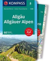 WF5456 Allgäu, Allgäuer Alpen Kompass