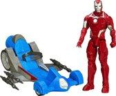 Avengers Iron Man met battle racer
