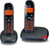 Switel DC5002 - Duo DECT telefoon - Zwart