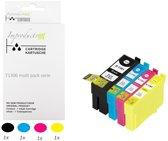 Improducts® Inkt cartridges Alternatief Epson T1301 T1302 T1303 T1304 T1306 1x set