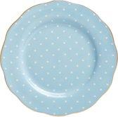 Royal Albert Polka Blue Ontbijtbord - Ø20cm