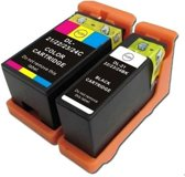 Compatible voor Dell Series 21 (22,23 en 24) InktBV® Inktcartridge-set 2pak