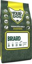 Yourdog briard hondenvoer pup 3 kg
