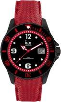 Ice-Watch Ice Steel IW015782 Horloge - Siliconen - Rood - 44 mm