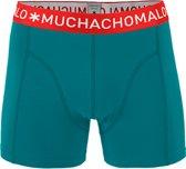 MuchachoMalo - Heren Boxershort Turquoise - S