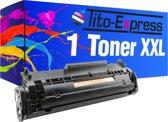 PlatinumSerie® toner XL black alternatief voor HP Laserjet Q2612A 12A