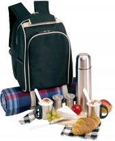 Een picknicktas inclusief thermoskan
