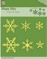 Nellies Choice Shape Mal - Snowflakes SDL029