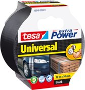 Tesa Extra Power Universal Tape Zwart 10 m x 50 mm