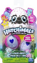 Hatchimals CollEGGtibles 2-pack + Nest - Speelset