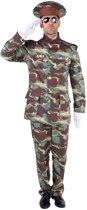 Politie & Detective Kostuum | Officier Erewacht Camouflage | Man | Extra Small | Carnaval kostuum | Verkleedkleding