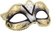 Boland Verkleedmasker Venice Felina Dames Zwart One Size