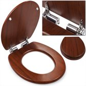 Toiletbril, toilet zitting, softclose, wc bril, hout