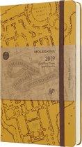 Moleskine agenda 2019 - 12 maanden - Dagelijks - Harry Potter beige - Large - Hard cover