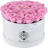 Cotton Candy Flowerbox Longlife rozen - XL wit