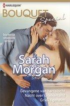 Sarah Morgan Special: Gevangene van hartstocht / Nacht over Griekenland / Grieks geheim, 3-in-1