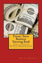 Private Tutor Business Tutoring Book
