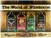 The World of Whisk(e)ys vierdelige wisky giftbox