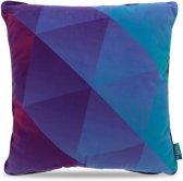 Intimo Cold Triangulation - Sierkussen - 45x45 - Blauw