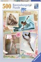 Ravensburger puzzel Prima ballerina - Legpuzzel - 500 stukjes