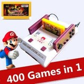 D99 Game Console NES | Nintendo 8 bit Entertainment System + 2 controller met aansluiting + Games Card met 400 games