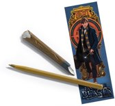 Fantastic Beasts - Newt's Scamander Wand Pen and Bookmark