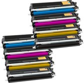 PlatinumSerie® set 8 toner XL alternatief voor Brother TN-230 black cyaan magenta yellow