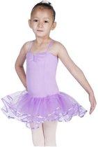 Balletpakje lila - Maat 128-134