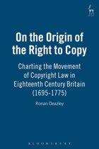 On the Origin of the Right to Copy