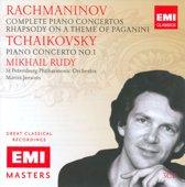 Rachmaninov: Piano Concertos Nos. 1-4; Rhapsody on a Theme of Paganini; Tchaikovsky: Piano Concerto No. 1