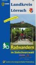 Landkreis Lörrach 1 : 50 000. Radwanderkarte mit Tourenvorschlägen