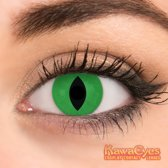 KawaEyes Demon Green  - Kleurlenzen