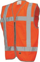 Tricorp Veiligheidsvest RWS met rits - Workwear - 453009 - Fluor Oranje - maat XXL