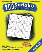 200 Gemischte Zahlen-Sudoku 09