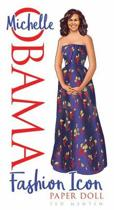Boekomslag van 'Michelle Obama Fashion Icon Paper Doll'