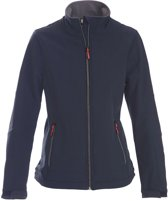 Printer Trial Lady Softshell Jacket navy XL