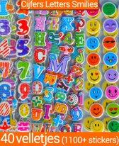 Stickers 50 Vellen voor Kinderen Meisjes | 3D Foam Hartjes Katten | BeloningsStickers Kinderen | King Mungo KMST008