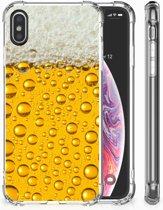 Shockproof siliconen hoesje iPhone X/10 | Xs Bier