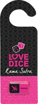 Tease en Please Love Dice Kama Sutra, deurhanger