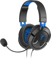 Turtle Beach Ear Force Recon 50P Wired Stereo Gaming Headset - PS4 + Xbox One + PC + Mac + Mobile – Zwart