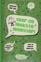 Boek Voor de leukste Meester - Afscheidscadeau - Hardcover - 14 x 20 x 1,6 cm