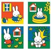 Nijntje kinderpuzzels 4 stuks
