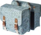 Basil Boheme Double Bag Dubbele Fietstas - 35 l - Jade Groen