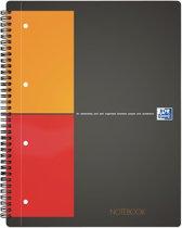 Oxford International Notebook A4+ 5mm ruit 160 pagina's - Scribzee compatibel