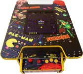 Retro Speelkast Machine - Cocktail Tafel Arcade - 60 spellen - Pac-Man, Space Invaders & Donkey Kong etc