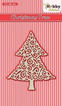 Nellies Choice Hobby Solutions Lace Dies Kerstboom