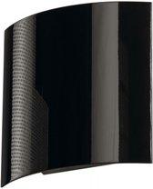 LED SAIL 1 zwart hoogglans 1xLED 3000K